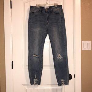 KanCan Jeans - KanCan Distressed Leopard Jeans